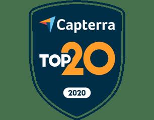 Capterra Top20 - 2020